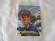 Harry Potter Chocolate Frogs Holographic Trading Card SEALED ~ Quirinus Quirrell