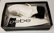 BeBe Shoes size 10M Black and White