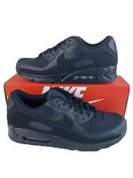 Nike Air Max 90 Triple Black CN8490-003 Running Shoes Men's Size 13 Authentic