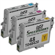 3PK T048 CMY COLOR Ink Cartridge Set for EPSON Stylus R200 R300M R320 R320 RX600