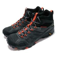 Merrell Moab FST 2 Mid GTX Gore-Tex Black Orange Men Outdoors Shoes J77485