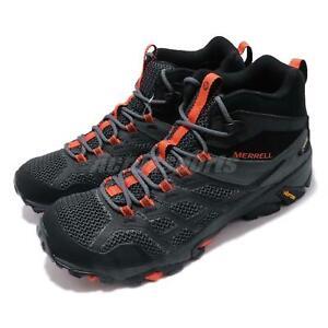 Merrell Moab FST 2 Mid GTX Gore-Tex Black Orange Men Outdoors Shoes J77485