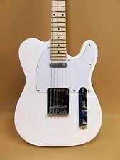 Haze SEG-787 Tele Electric Guitar White + Gig Bag + Full Kit