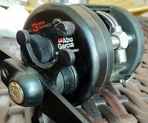 Vintage Abu Garcia Ambassadeur Black Max 3600 Casting reel * Sweden * Excellent!