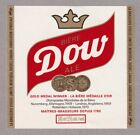 Dow Ale Beer Label - O'Keefe