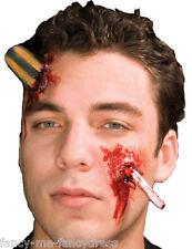 halloween zombie vissé UP Bloody effets spéciaux Maquillage Costume déguisement
