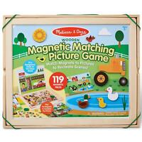 Melissa & Doug Magnetic Matching Picture Game - Wooden Set - Kids Ages 3 Years +
