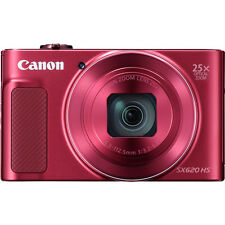 Canon PowerShot SX620 HS with 8gb Card & Case (RED)
