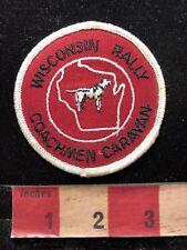 Wisconsin Rally COACHMAN CARAVAN Patch C83Q
