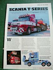Scania T Series Cab Corgi Oxford Tenko Models Toy Truck article 2 sides
