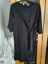 Womens Dorothy Perkins Maternity Dress Size 12 Black