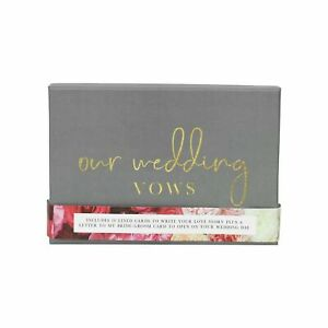 Wedding Vows Letter to Bride and Groom Gift Ceremony Scroll Keepsake Planner