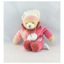 Doudou et compagnie pantin ours rose mouchoir  - Ours Mouchoir