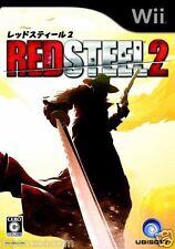 Used Wii Red Steel 2  Nintendo JAPAN JP JAPANESE JAPONAIS IMPORT