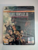 final fantasy FF XII12 édition limitée steelbook ps4 ps4 playstation 4 neuf