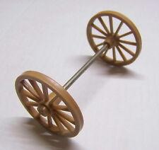 PLAYMOBIL (B712) WESTERN - Grandes Roues 5,5cm et Essieu Chariot Diligence Canon