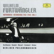 Wilhelm Furtwängler, - Live Recordings 1942-1944 1 [New CD] B