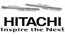 HITACHI KIT SET 2 SCALPELLI SDS-MAX SCALPELLO A PUNTA E PIATTO SDS MAX L. 400 mm