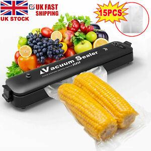 3 In1 Vacuum Food Sealer Automatic Manual Vacum Sealer Dry&Wet Pack Machine UK