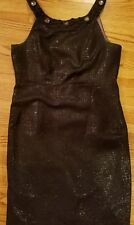 DRESSBARN COLLECTION black cocktail SLEEVELESS DRESS SIZE: 14 lined