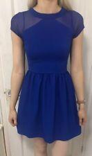 MISO WOMENS BLUE DRESS SIZE 6
