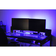 2.5-5M Gaming Computer Desk LED Lights Office Home Room Lighting Remote Control