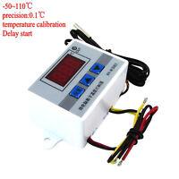 220v 12v 24v Digital LED Temperature Controller 10A Thermostat Control Switch