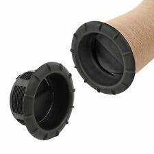 Endstück Warmluftaustritt Schwarz Truma für 65mm Warmluftrohre verschließbar