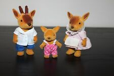 Sylvanian Calico Critters Forest Families Rare Deer Family