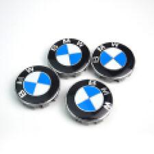 4Pcs Genuine BMW Emblem Logo Badge Hub Wheel Rim Center Cap 68mm Free shipping