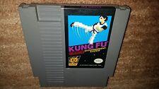 KUNG FU BLACK BOX CART KARATE NINTENDO NES NRMT CONDITION GAME CARTRIDGE