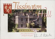 Tissington Hall Guide Signed Sir Richard Ranulph FitzHerbert HL3.351