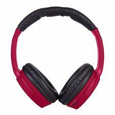 Brand New VIVITAR INFINITE BLUETOOTH WIRELESS HEADPHONES Crimson Red Lim Edition