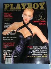 Playboy Magazine December 1987 Brigitte Nielsen Stallone Jessica Hahn part 2