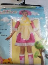 Lalalooppsy Sugar Cookie Child Costume Outfit Toddler 3T-4T NIP