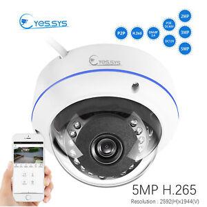 Eyes.sys H.265 1080P IP 15IR 2MP/3MP/5MP CCTV HD POE DOME Camera  RTSP NVR