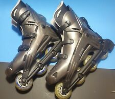 Rollerblades Made In italy TX7 Viablade 76 78A Wheels US Size 13