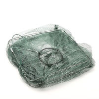 Foldable Crab Fish Crawdad Shrimp Minnow Fishing Bait Trap Cast Dip Net Cage _7