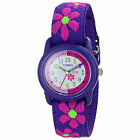 Kidz Girls Flowers Time Teachers Children Kids Wrist Watch Timex T89022 New