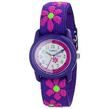 KIDZ RAGAZZA FIORI tempo insegnanti Bambini Kids Orologio da polso Timex T89022 NUOVO