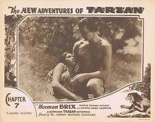 NEW ADVENTURES OF TARZAN 1935 Herman Brix Chapter 7 VINTAGE SERIAL Lobby Card 2