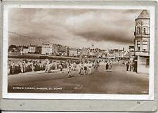 BANGOR , Queen's Parade, Co Down, old postcard.