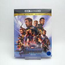 Avengers: Endgame - 4K UHD + Blu-ray Steelbook Full Slip Case Edition / SMLife