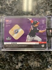 Anthony Rendon 2019 Topps Now World Series Relic /25 Nationals