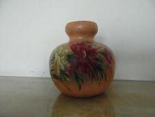 N° 2 -  vase en terre cuite décor peint années 30 40