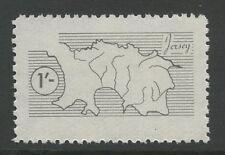 Guernsey SARK 1964/5 1s vignette perf PROOFUM ** MNH