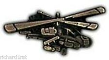 Hat Tie Tac Pin airplane AH64 Apache Helicopter NEW