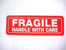 500 1x3 FRAGILE Handle with Care Labels Stickers