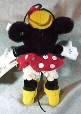 Steiff Disney Minnie Mouse Ornament 1999 Tags Button