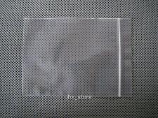 "50 Clear Plastic Ziplock Bags Poly Zipper Pouches 2.4 Mil_2.3"" x 3""_60 x 80mm"